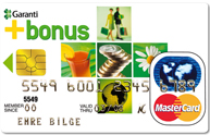 Bonus card Garanti Bank